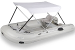 Sea Eagle Wide Canopy. Not sold separately. Must ship with a Sea Eagle Boat