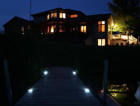 lake lite solar deck dock lite dock lights