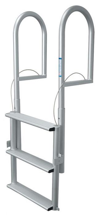 Jif Marine Djx3 W Dock Lift 3 Step Ladder Anodized