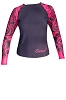 Exceed Ease Fuchsia L/S E3476 Womens Rash Guards