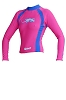 Exceed Evasive L/S Remix W874R Womens Rash Guards