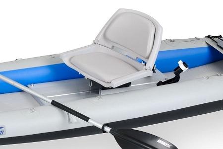 Sea Eagle Swivel Fishing Seat Module W 2 Rod Holders For