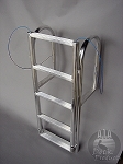 A1A Dock 4 step Lift Ladder 3 1/2