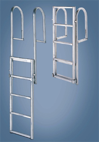 International Dock 5 Step Original Lifting Ladder 2