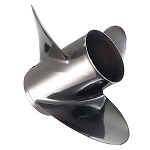 Quicksilver Lightspeed Stainless Steel Boat Propeller