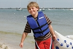 Sea Eagle Life Jacket - Child (50-90 Lbs.) . Not sold separately. Must ship with a Sea Eagle Boat