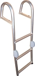Bearcat Pontoon Rear Entry Aluminum  Ladder LREBCRD