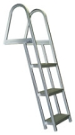Bearcat Aluminum Angled Dock Swim Ladders 3 Step Model L55