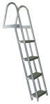 Bearcat Angled Aluminum Dock 4 Step Swim Ladders Model L65
