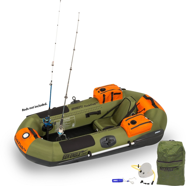 New The Sea Eagle Packfish7 Deluxe And Packfish7 Pro Solo