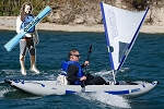 Sea Eagle QuikSail - Universal Kayak Sail PROMOTION (Must ship at the same time with a Sea Eagle Boat)