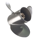 Quicksilver Silverado - Vengeance Stainless Steel Boat Prop WITH Pressed In Hub