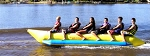 Island Hopper Recreational Banana Boat - 5 Passenger, 17', In-line Seating PVC-5