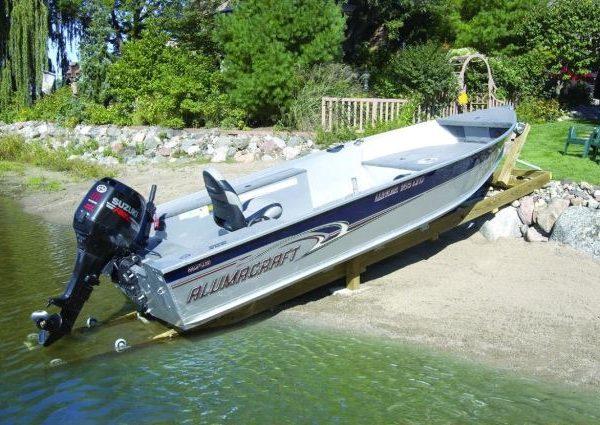 DIY Personal Watercraft Jet Ski Boat Shore Ramp Dock Docking Kit 1200lb Capacity