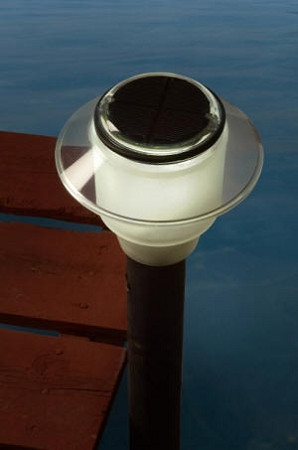 Solar Dock Post Light Model Dl1205