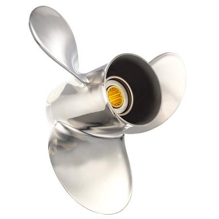 Solas Saturn Prop (Suzuki) - 9 9hp, 15hp, 9 1/4
