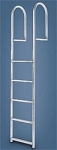 International Dock Standard Straight 3 Step Ladder 2