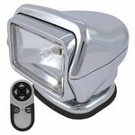 GOLIGHT Stryker  Model 30062 (Chrome) with Wireless Hand-Held Remote With Magnetic Mount