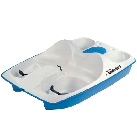 Sun Dolphin 5 Person Pedal Paddle Boat
