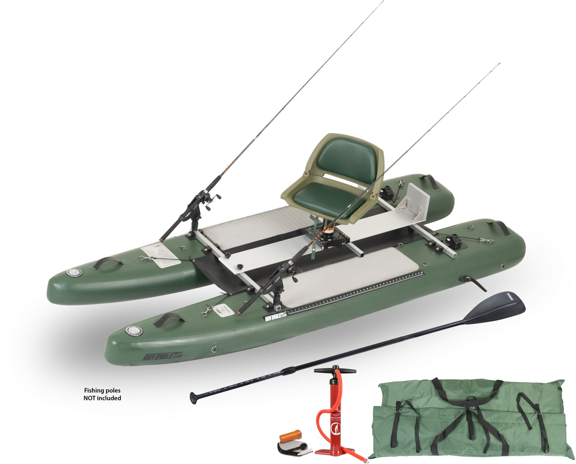 Sea Eagle Supcat10 Inflatable Fishing Stand Up Paddleboard
