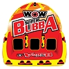 WOW Super Bubba HI VIS 1-3 Person Inflatable Towable 17-1060