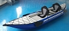 Boat Owners World New Drop Stitch Floor Inflatable Kayak Model BOW101