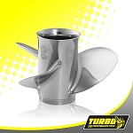 Turbo Hot Shot Boat Propeller - (Honda) 3.5 Gear Case,10 1/2 Diameter,3 Blade