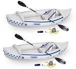 TWO COMPLETE PACKAGES Sea Eagle SE 330 Pro Solo