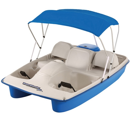 Sun Dolphin Water Wheeler Asl Electric Pedal Paddle Boat