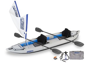 Sea Eagle 385ft FastTrack QuikSail Package 385FTK_QS