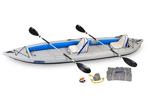 Sea Eagle 465ft FastTrack Deluxe 2 Person Kayak Package