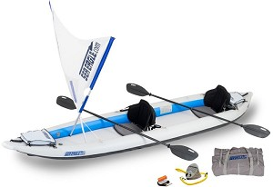 Sea Eagle 465ft FastTrack QuikSail Kayak Package 465FTK_QS