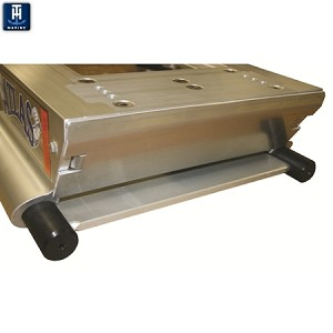 "TH Marine Atlas 8"" Hydraulic Jack Plate Hole Shot Plate - Aluminum AHJHSP-8V-DP (Not Sold Separately)"