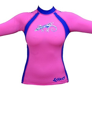 Exceed Evasive L/S W874 Womens Rash Guards
