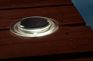 Nearly Flush Mount Solar Light