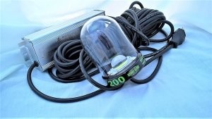 Hydro Glow SF 200  Underwater LED Dock Lighting Fish Light - Color Green with 50' cord