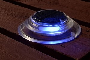 Surface Mount Solar Dock Deck Light