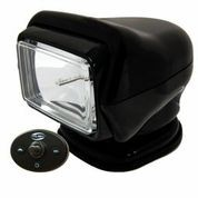 Golight Stryker H.I.D. 30211 (Black) with Hard Wired Dash Mount Remote