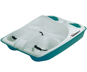Sun Dolphin 3 Person Pedal Paddle Boat
