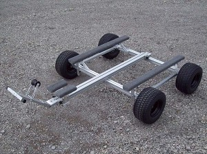 Trailex SUT-700U Tandem axle universal dolly fully adjustable. SUT700U